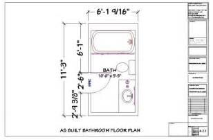 smallest bathroom floor plan bathroom small narrow floor plans neurostis