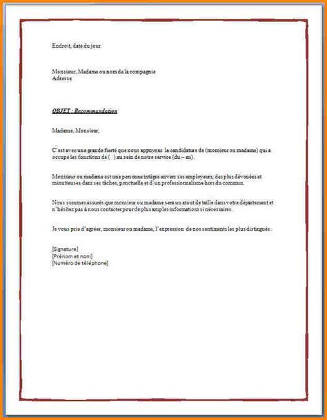 Lettre De Recommandation Formulaire 8 Lettre De Recommandation D Un Prof Pour Un 233 Tudiant Modele Lettre