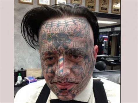 horrible face tattoos think before you ink the ultimate horrendous bad