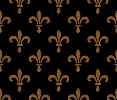 Fleur De Lis Home Decor Wholesale by 14th Century Fleur De Lys Gold And Black Fabric
