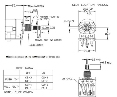 500k pots p wiring diagram home circuit diagram push