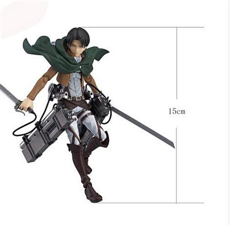 Figure Anime Pvc Attack On Titan 6 quot anime attack on titan pvc figure figma new in
