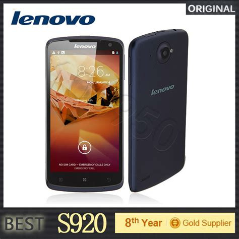 Lcdtouscren Originall Lenovo S920 original lenovo s920 mtk6589 mobile phone 5 3 ips 1280x720px screen 1gb ram 8 0mp