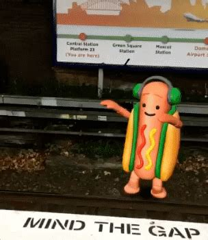 dancing hot dog gifs find share  giphy