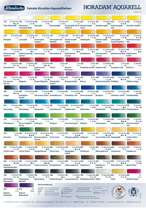 Lyra Rembrandt Aquarell Set Of 36 Hi Store 79 best images about colour charts on