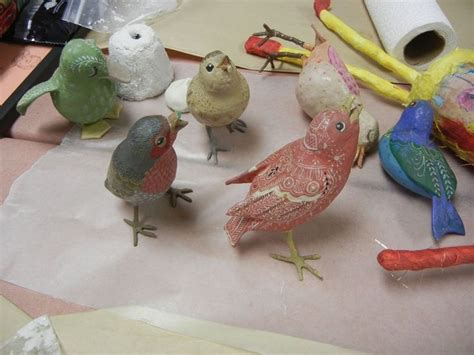 Make Paper Mache Birds - 17 best images about aves on ceramics clay