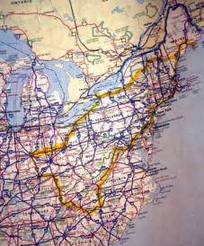 us highway map east coast east coast road map