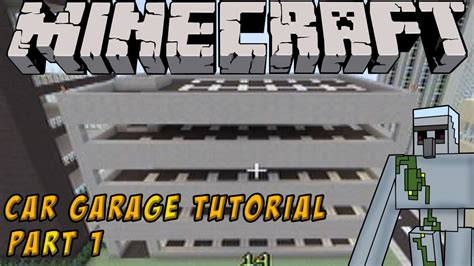 build on my lot minecraft tutorial how to build a parking garage part 1