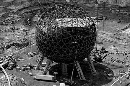 inside the history of spaceship earth at epcot