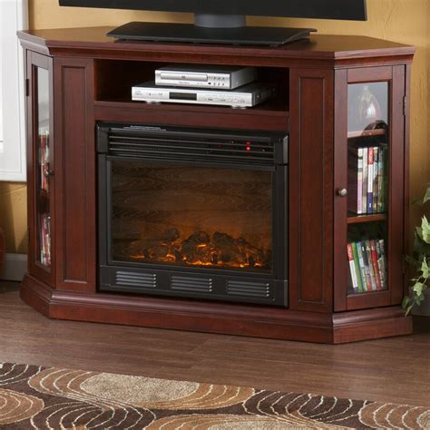 alcott hill dunminning corner tv stand  fireplace