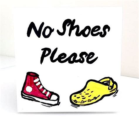 no shoes sign for house 50 best whimsical no shoes please door sign images on pinterest tiles door signs