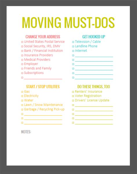 9 necessary things to do before you move into your new the lovely side 5 important must do s before you move