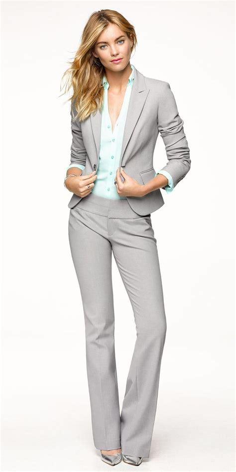 Setelan Whity Denim 26 grey business attire looks for 2018 fashiongum