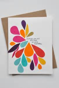easy birthday cards http creativehandmadecollections gift