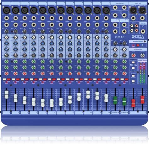 Blender National Sonic dm16 national audio systems