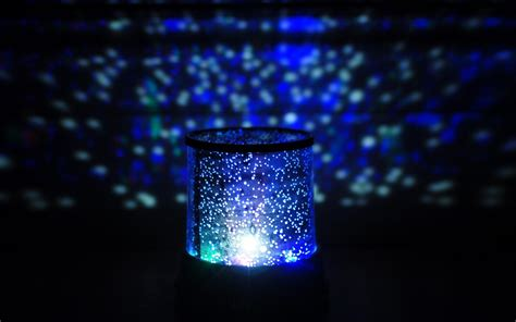 Crystal Table Lamps For Bedroom mood glow lamp night light blue 6930997
