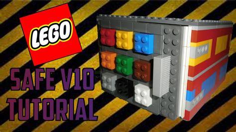 lego vault tutorial lego safe v10 tutorial youtube