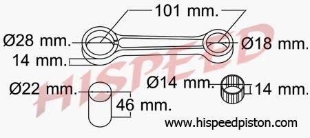 347 Stang Seher Piston Suzuki daftar connecting rod stang seher motor kawasaki serba