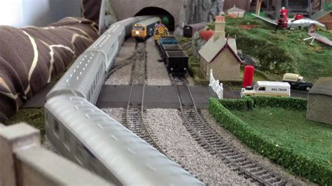 oo layout youtube my new oo gauge model train layout hornby bachmann lima