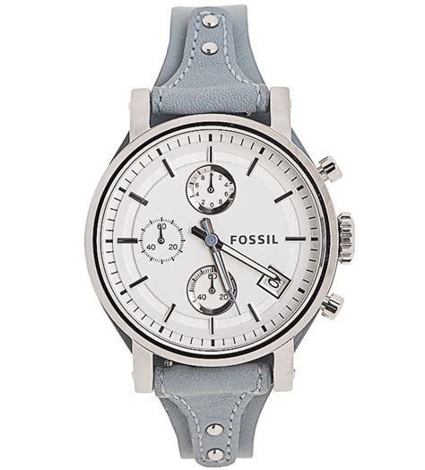 Fossil Logan Chronograph Leather Ori fossil original boyfriend chronograph leather only 68 98