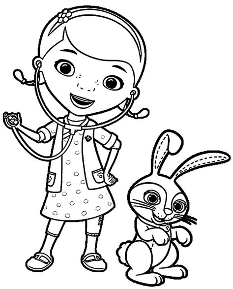 doc mcstuffins coloring pages coloring pages