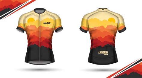 camisa de ciclismo frente verso cycling