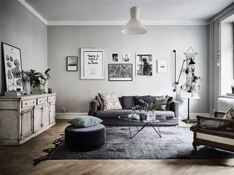 monochrome interior design gem 252 tliche wohnung im vintage stilmix designs2love
