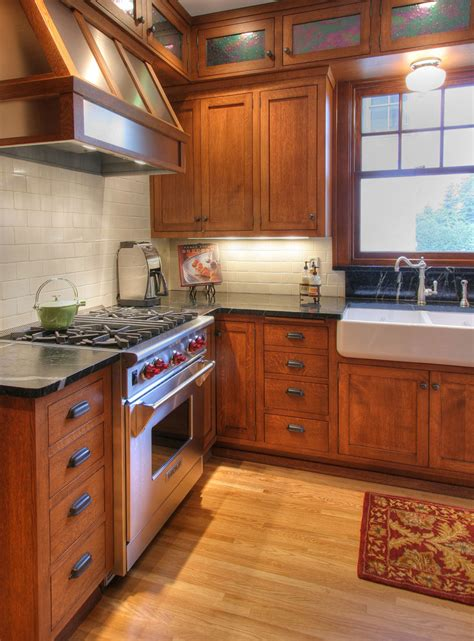 craftsman style kitchen cabinets sensational quarter sawn oak decorating ideas