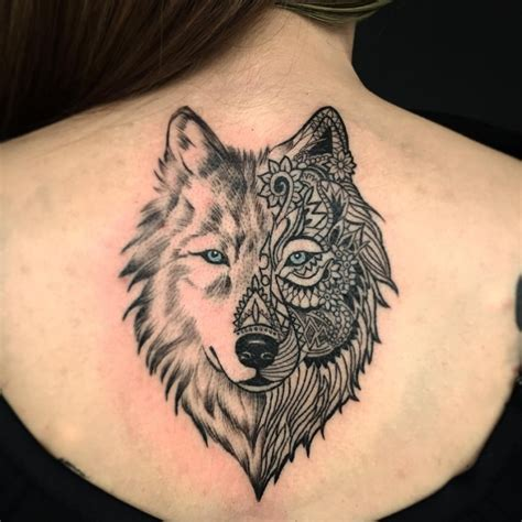 modern tattoo design wolf chest www pixshark images