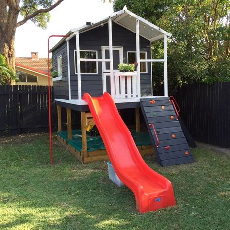 cubby house and swing set best 25 painted playhouse ideas on pinterest boys