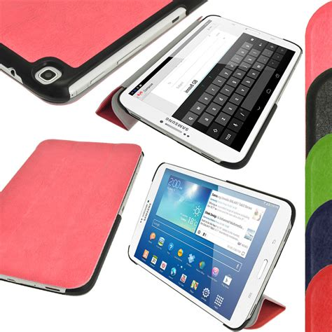 Samsung Tab 3 T311 Bekas pu leather cover for samsung galaxy tab 3 8 0 tablet sm t310 t311 t315 ebay