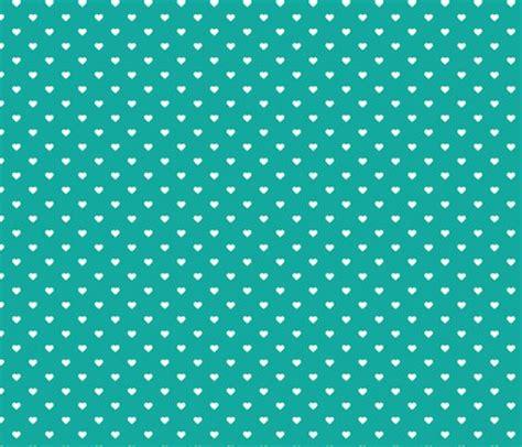 flower pattern eshop teal polka dot hearts fabric sweetzoeshop spoonflower