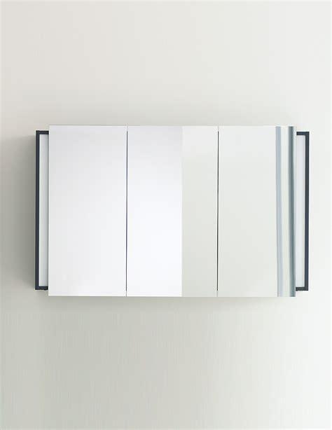 duravit ketho 1200mm 3 door mirror cabinet kt753301818 duravit ketho graphite matt 1200mm mirror cabinet