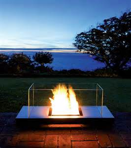 ethanol kamin outdoor ethanol fireplace from radius design modern outdoors