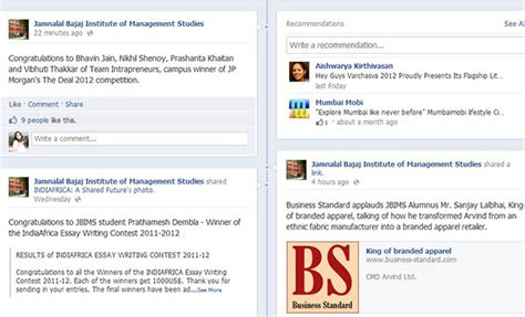 Is Isb Pgp Equivalent To Mba Usa Visa by 187 How Social Are Indian B Schools