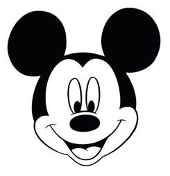 printable mickey mouse head cliparts