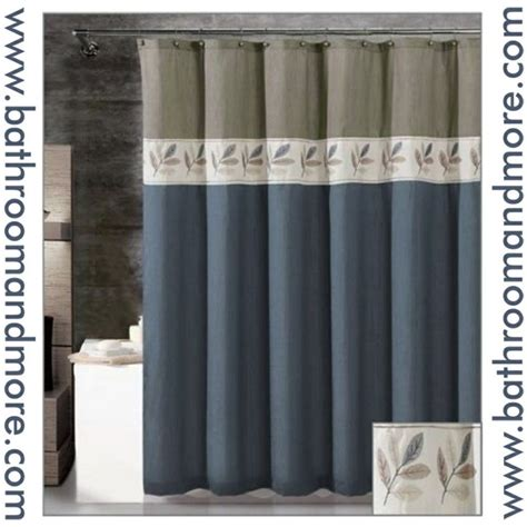 slate blue shower curtain pin by bonnie twogood on bathrooms pinterest
