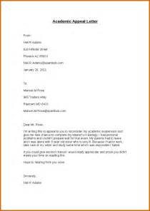 Appeal Letter For Dismissal 10 Academic Dismissal Appeal Letter Exle Lease Template