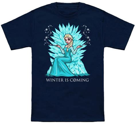 Tshirt Winter Is Coming I frozen winter is coming t shirt