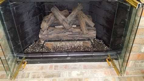 Fireplace Gas Logs Installation by Gas Log Installation Lucky Sully Chimney Sweeplucky