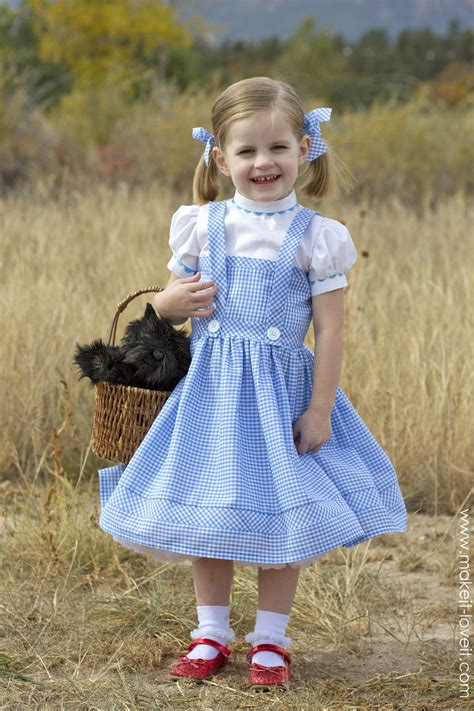 Handmade Dorothy Costume - 2014 dorothy from quot wizard of oz quot make it