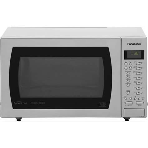 Microwave Panasonic Low Watt panasonic nn ct585sbpq slimline inverter 1000 watt