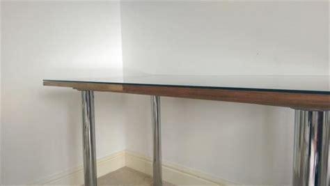 Diy Glass Desk Diy Pallet Metal Office Desk 101 Pallets