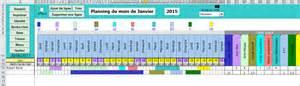 Calendrier Budget Gratuit Planning Calendrier Gestion Temps De Travail Mod 232 Les