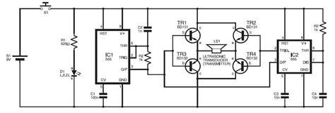 High Power Mouse Repeller Pengusir Tikus Ultra Sonic 150 Db repellent circuit