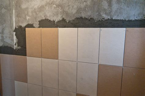 diy bathroom wall tile how to install wall tile in bathroom howtospecialist how to build step by step