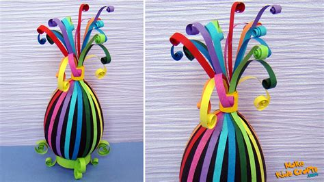 How To Make Easter Eggs Out Of Paper - how to make a paper quilling easter eggs diy