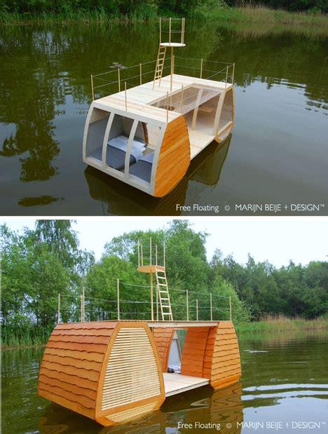 catamaran drijvers catamaran cabin floats complete with deck crow s nest