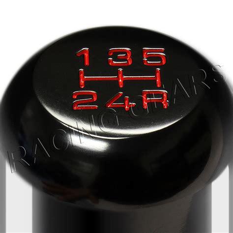 Aluminum Speed Manual Shift Gear Honda Type R Untuk Mobil Racing Mugen black aluminum manual mt type r 5 speed gear shifter shift knob fit honda acura