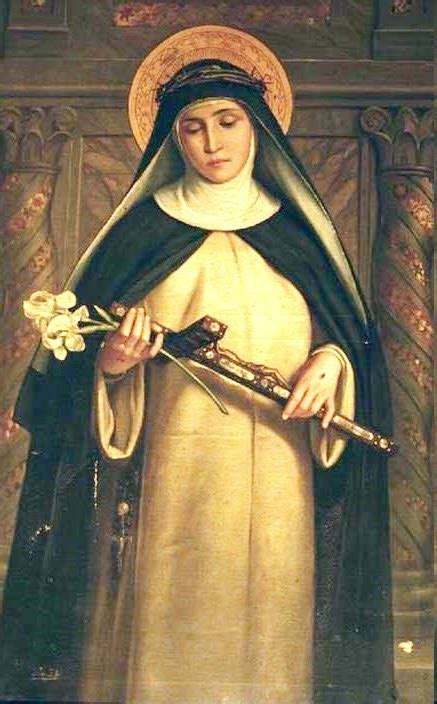 St Catherine Of Siena Miracles The Fast Of St Catherine Of Siena